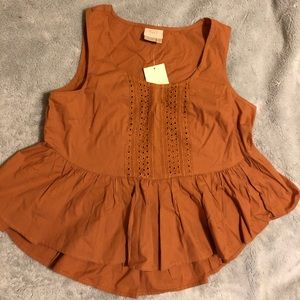 Anthropologie Top - Brown